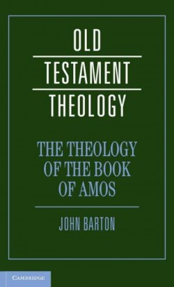 Bookcover: Theology of the Book of Amos
