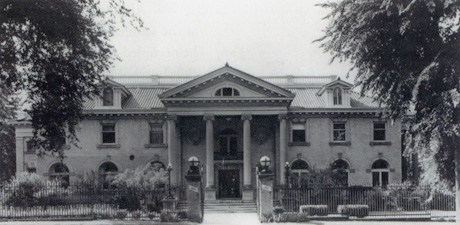 Bonfils Mansion - Seminary's first home