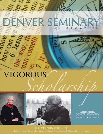 Denver Seminary Magazine: Winter 2011