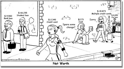 Net Worth Comic